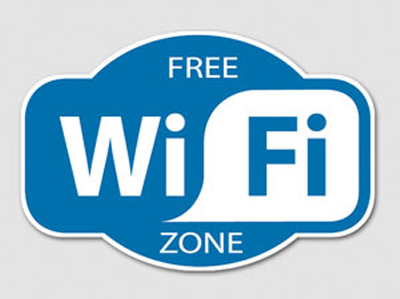 free wifi zone - Home